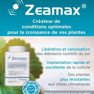 Avec ZEAMAX® Bioline Agrosciences entre dans le marché des biostimulants