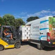 New vans for fresh deliveries in UK!